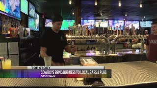 Cowboys Playoffs  Mean More Business for Local Bars and Restaurants