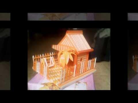 Nhà làm bằng ống hút (Phần 2)