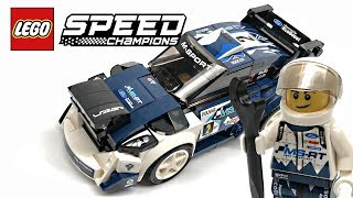 LEGO Speed Champions Ford Fiesta M-Sport WRC review! 2018 set 75885!