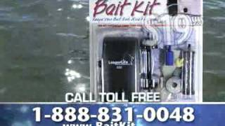 How To Make Your Own Livewell Or Bait Bucket, And Keep Your Bait Alive: Longer Life Bait Kits