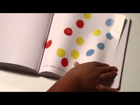 PRESS HERE by Herve Tullet -- Book Trailer