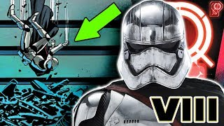 How Phasma SURVIVED the Trash Compactor (CANON) - Star Wars Explained