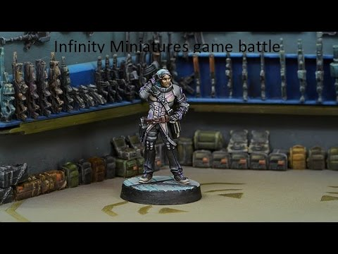 HOW TO PLAY: infinity miniature game mission 1 Operation Icestorm