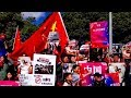 Chinese students rally across Australia to voice support for China