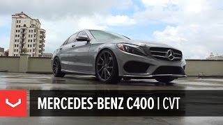 Mercedes-Benz C400 | Grey Day | Vossen CVT