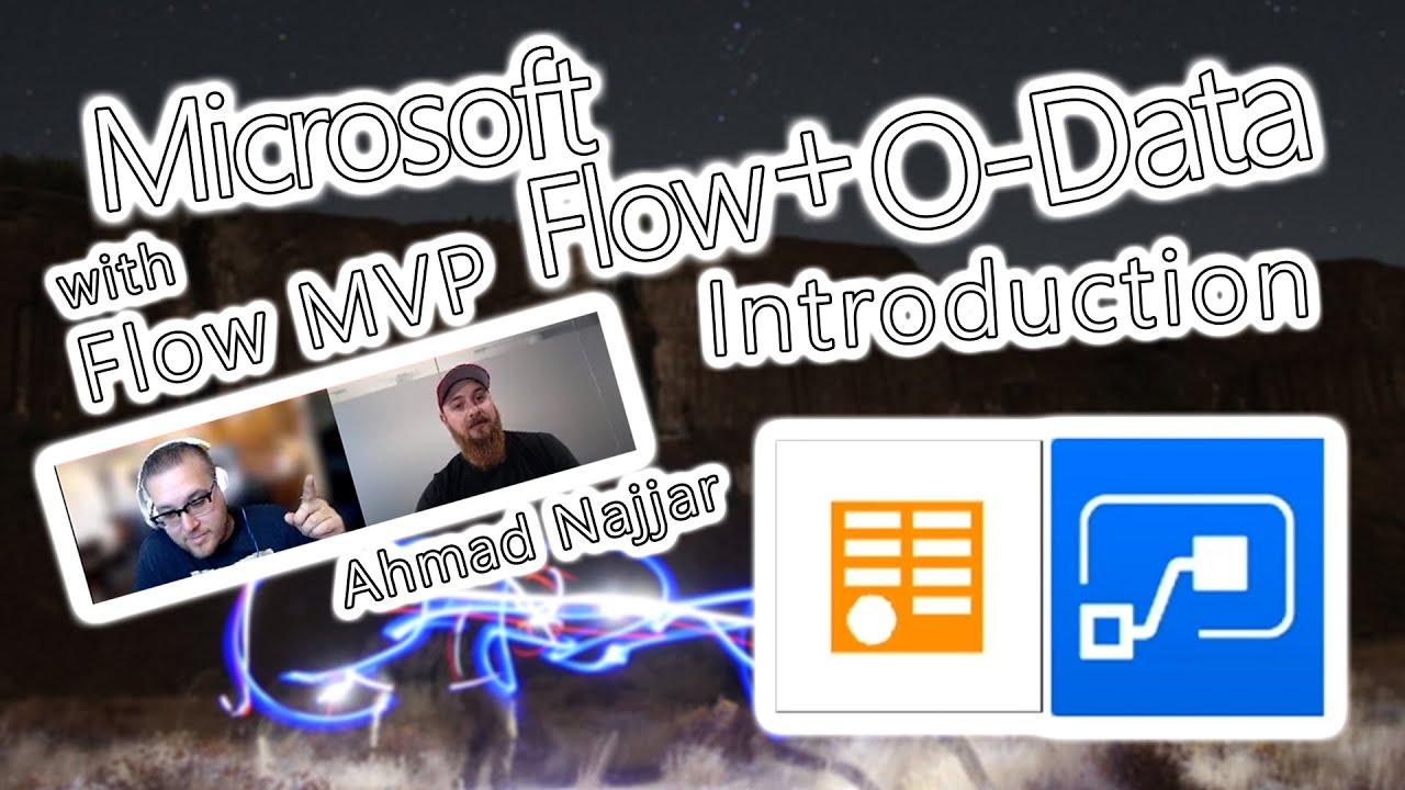 Microsoft Flow Tutorial – O-Data Introduction – TDG