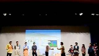 2011年2月7日 兎ライブ 立命館宇治高校3年4組 よしもと新喜劇やってみま...