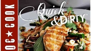 Asian Grilled Chicken Salad Recipe - Orange County Cook - Quick And Dirty