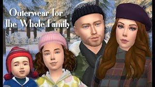 SEASONS CC | OUTERWEAR FOR THE WHOLE FAMILY | THE SIMS 4 + CC LIST & LINKS