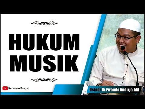 Inilah Hukum MUSIK dalam Islam - Ustadz Dr  Firanda Andrija, MA