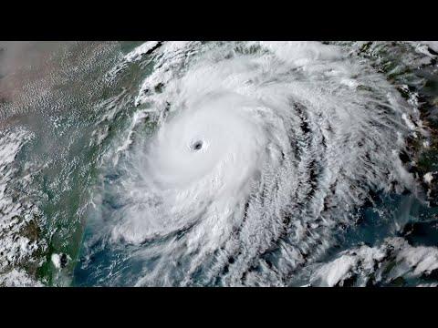 Hurricane Laura evolution