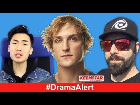 RiceGum VS Alinity #DramaAlert Logan Paul BACK, Keemstar VS ImJaystation
