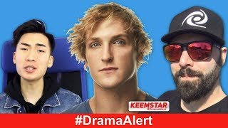 RiceGum VS Alinity #DramaAlert Logan Paul BACK, Keemstar VS ImJaystation