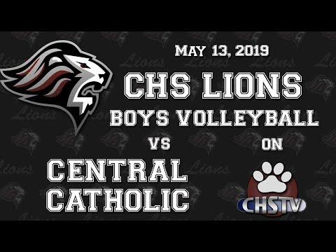 CHS Lions Boys Volleyball May 13, 2019