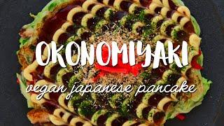 Okonomiyaki Recipe (お好み焼き) Vegan Friendly