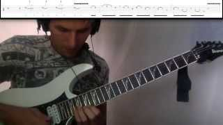 """Guitar Solo Lesson """"Death To All But Metal"""""""