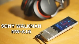 【SONY Walkman NW-A16:Unboxing】新型ハイレゾ対応ウォークマン Aシリーズ NW-A16 32GBを開封!