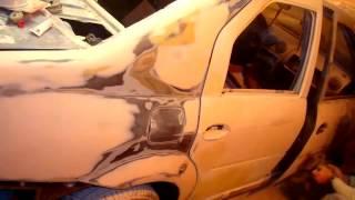 покраска авто в гаражных условиях