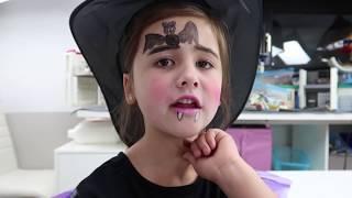 Hexen & Zombies - Schminken zu Halloween 🎃 Ava vs. Mama 👻 Geschichten und Spielzeug