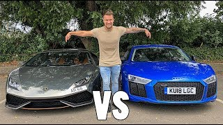 LAMBORGHINI HURACAN VS AUDI R8 | WHICH IS BETTER?