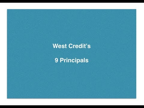 West Credit's 9 Principals