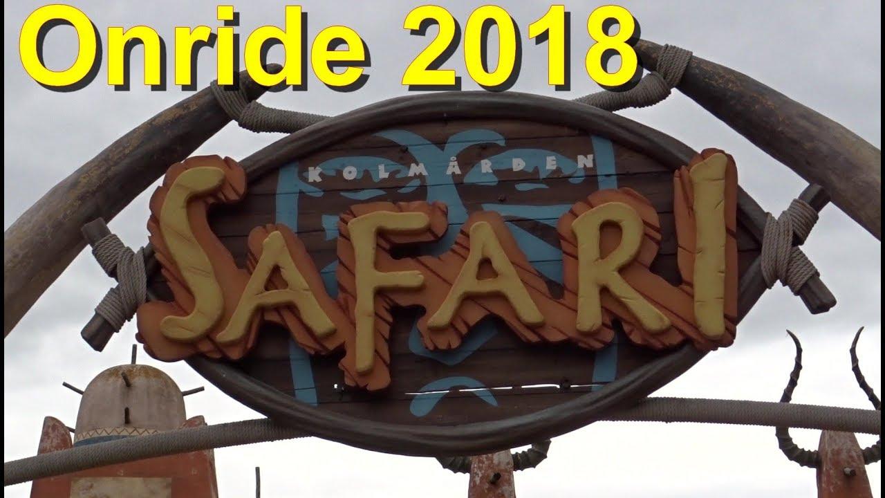 Kolmarden Safari – POV - Seilbahn - Onride 2018 - Kolmården Wildlife Park -  Safarigondel Doppelmayr