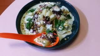 octopus salad _ 문어샐러드 [파인애플 드레…
