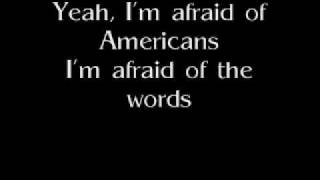 Watch David Bowie Im Afraid Of Americans video