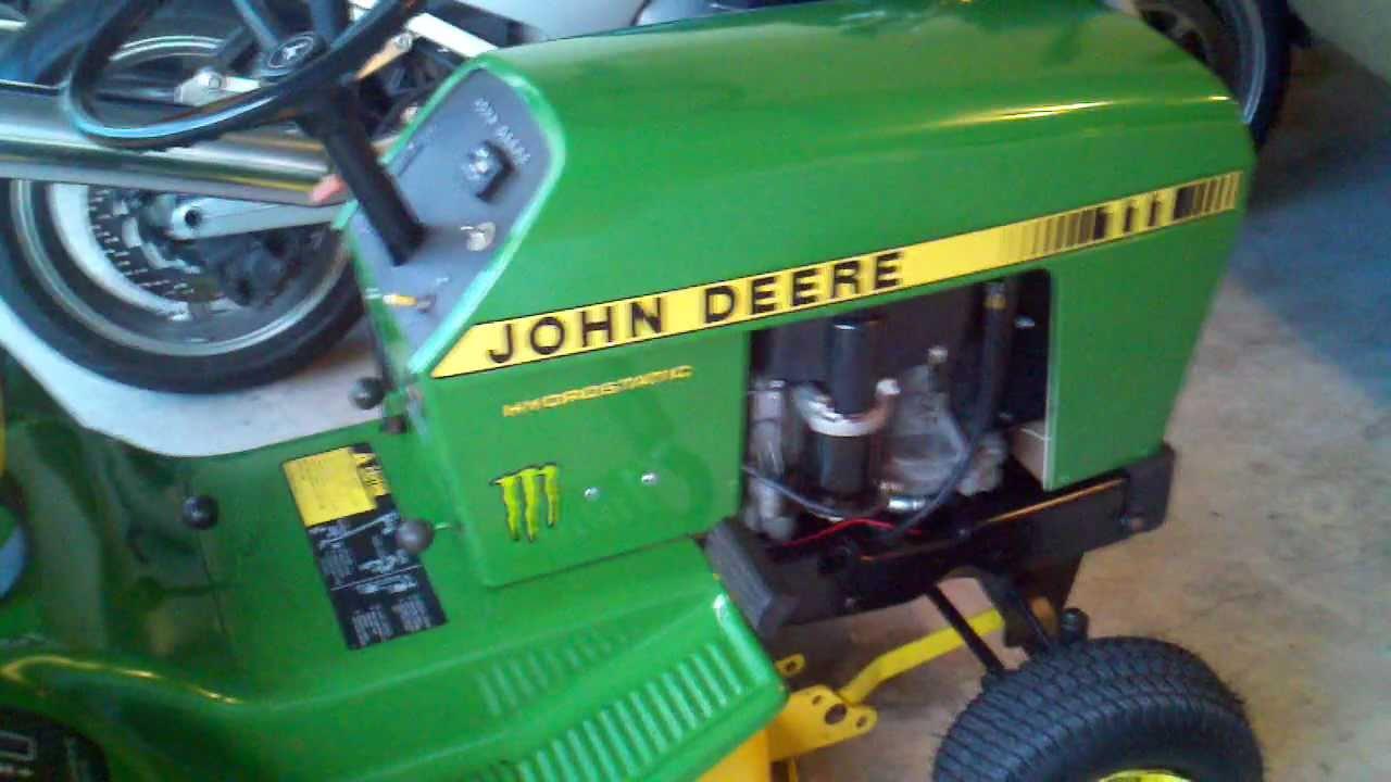 110 Switch Wiring Diagrams John Deere 111 Restoration Youtube