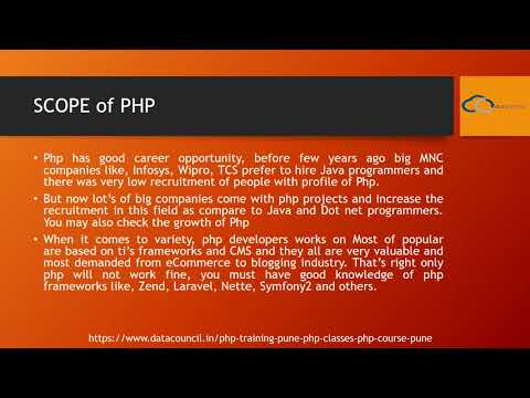 PHP Training in Pune|Software Training Institute in Pune|DataCouncil