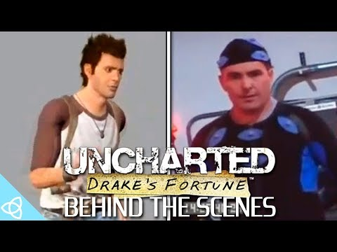 Behind the Scenes - Uncharted: Drake's Fortune [Early Prototype, Motion Capture and Making of]
