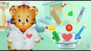 Daniel tiger juega a ser doctor!!