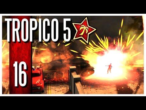 Tropico 5 - Ep.16 : Nuclear War? WRONG BUTTON!