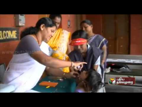 Second phase of Polio drops in Tamilnadu tomorrow