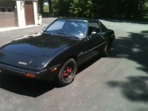 My 1980 series 1 rx7 stock 12a with new full racing beat street port  exhaust!