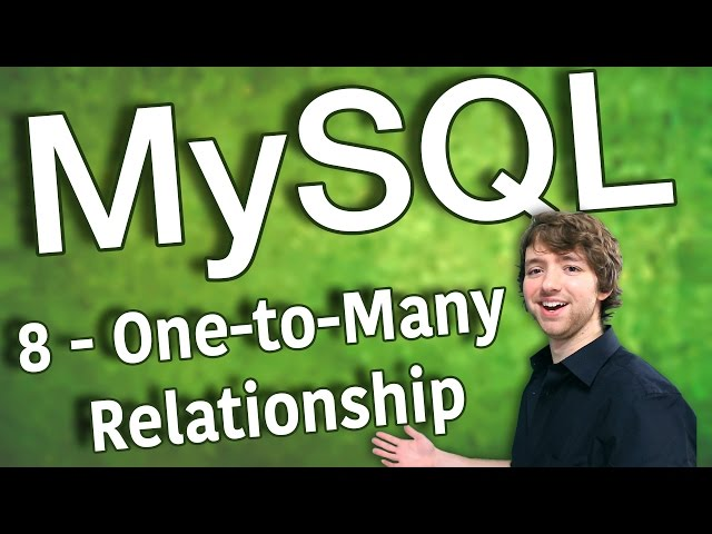 MySQL 8 - One-to-Many Relationship
