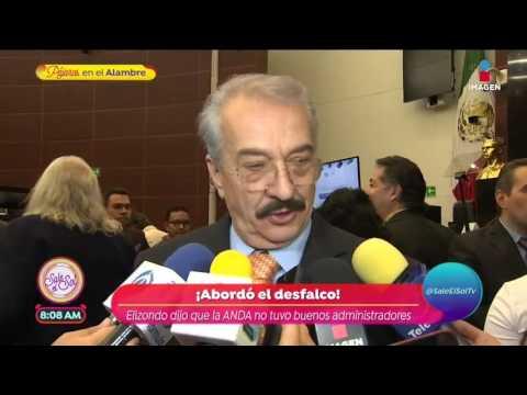 Humberto Elizondo pide apoyo para actores en el Senado | Sale el Sol