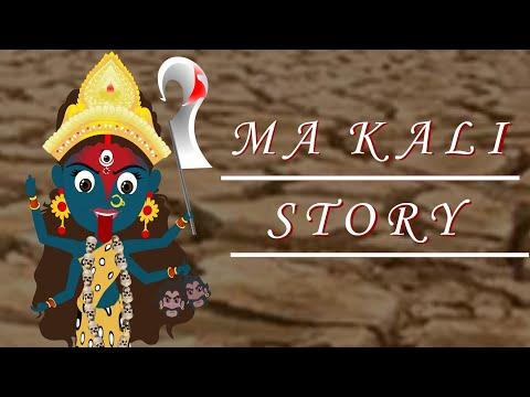 """Ma Kali Animated Story""//""Cartoon Ma Kali Story""//The story of Chanda Munda"
