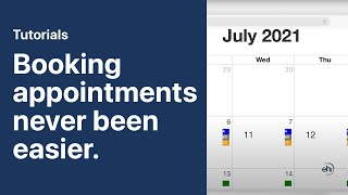 How to Book Appointments with the Calendar View