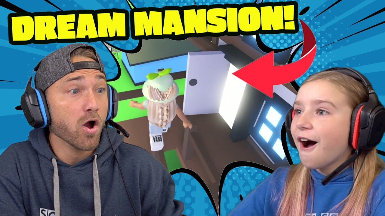 Cammy Boba Roblox Avatar Fans Surprise Us With A Dream Mansion Roblox Adopt Me Youtube