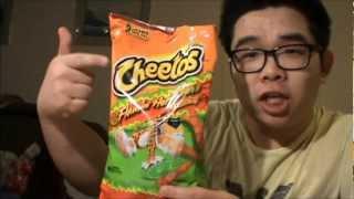 Cheetos Flamin Hot Crunchy ~ Lime