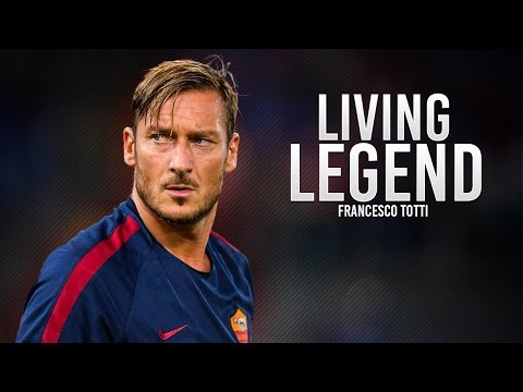 Francesco Totti ● Living Legend | Happy Birthday For 40 Years ● HD