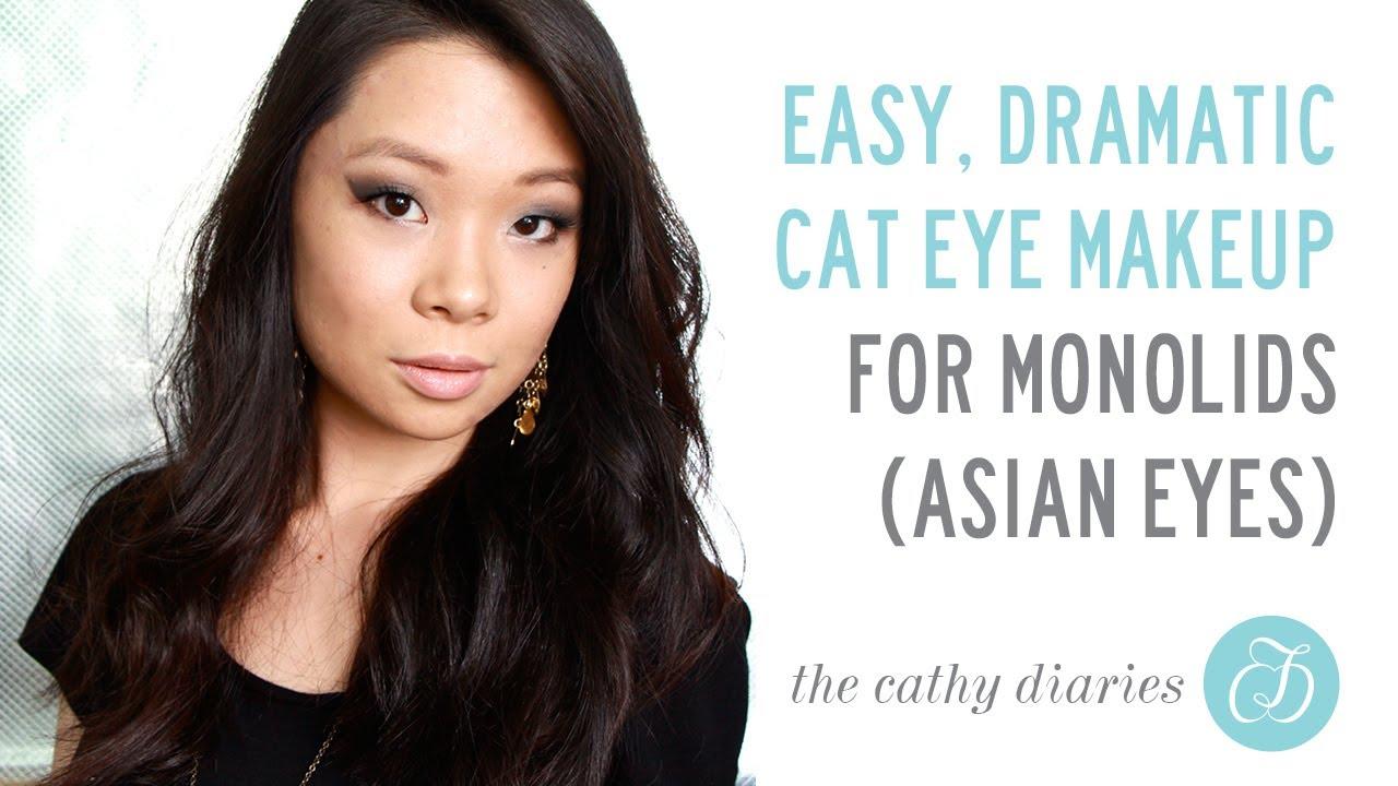 Cat eye asian makeup new photo