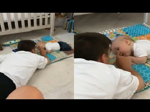WATCH !!! Baby Jackson and Dad's Zach Roloff Playing and Face-Down Together: 'Like Father Like Son'