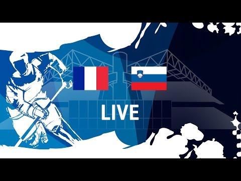 France - Slovenia   Full Game   #IIHFWorlds 2017