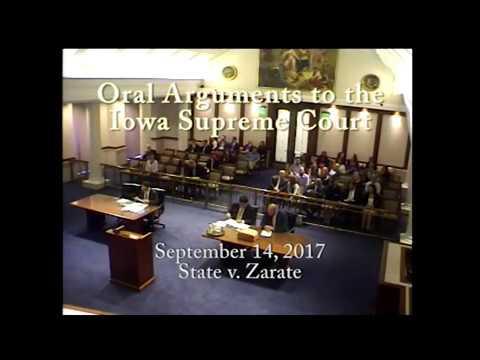 15–2203 State of Iowa v. Rene Zarate, September 14, 2017