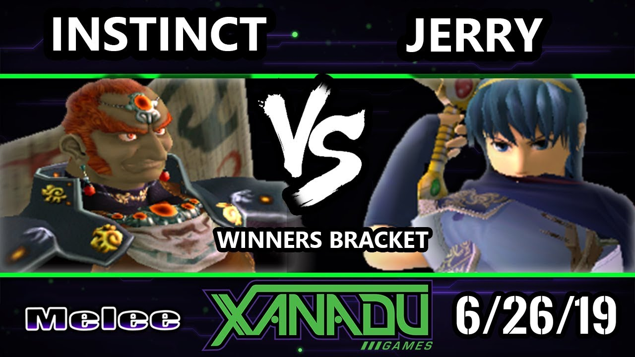 S X 308 Ssbm Jerry Marth Vs Instinct Fox Ganondorf Smash Melee Winners Round 3