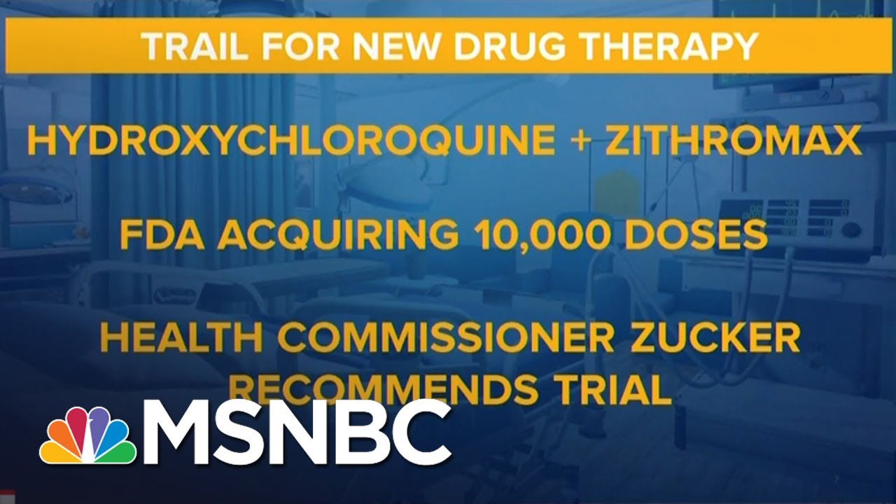 Cuomo: New York Will 'Immediately' Conduct Trials For Coronavirus Drug Therapy | MSNBC