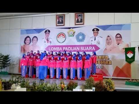 Juara 1 Kabupaten Buton --- Paduan Suara Tingkat Provinsi Sulawesi Tenggara 2017 -- Lagu Wajib Mars