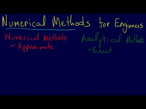1.1.1-Introduction: Numerical vs Analytical Methods